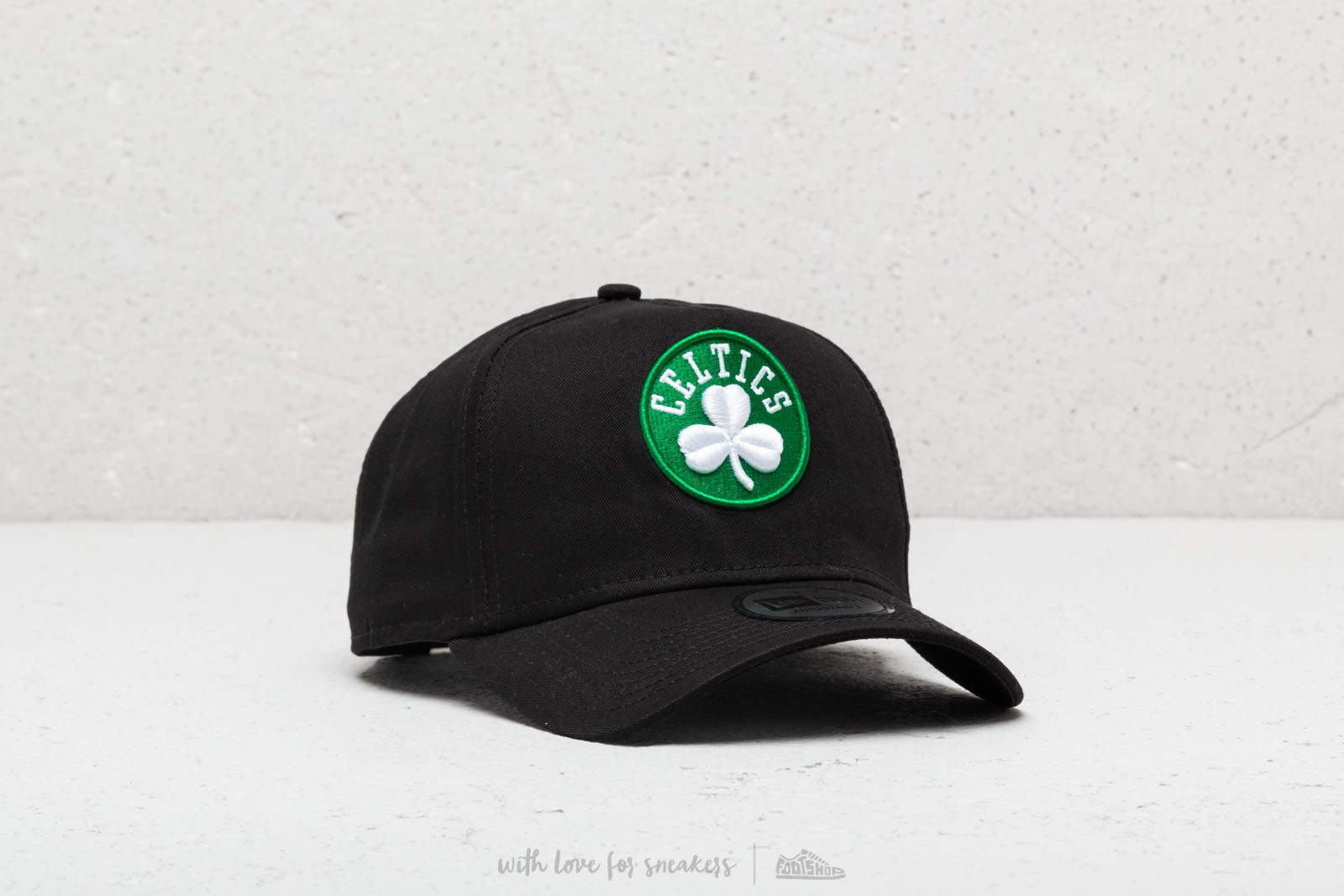 New Era NBA Team Boston Celtics A-Frame Snapback Black at a great price £ 7a5b1d13473