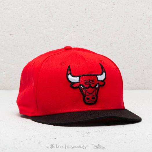 8f995682d03 New Era 9Fifty NBA Team GITD Basic Chicago Bulls Snapback Black ...
