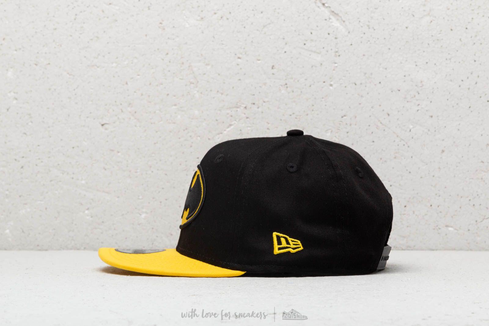 ca4c3e53d73 New Era Kids Essential Batman Snapback Black  Yellow at a great price  30  buy at