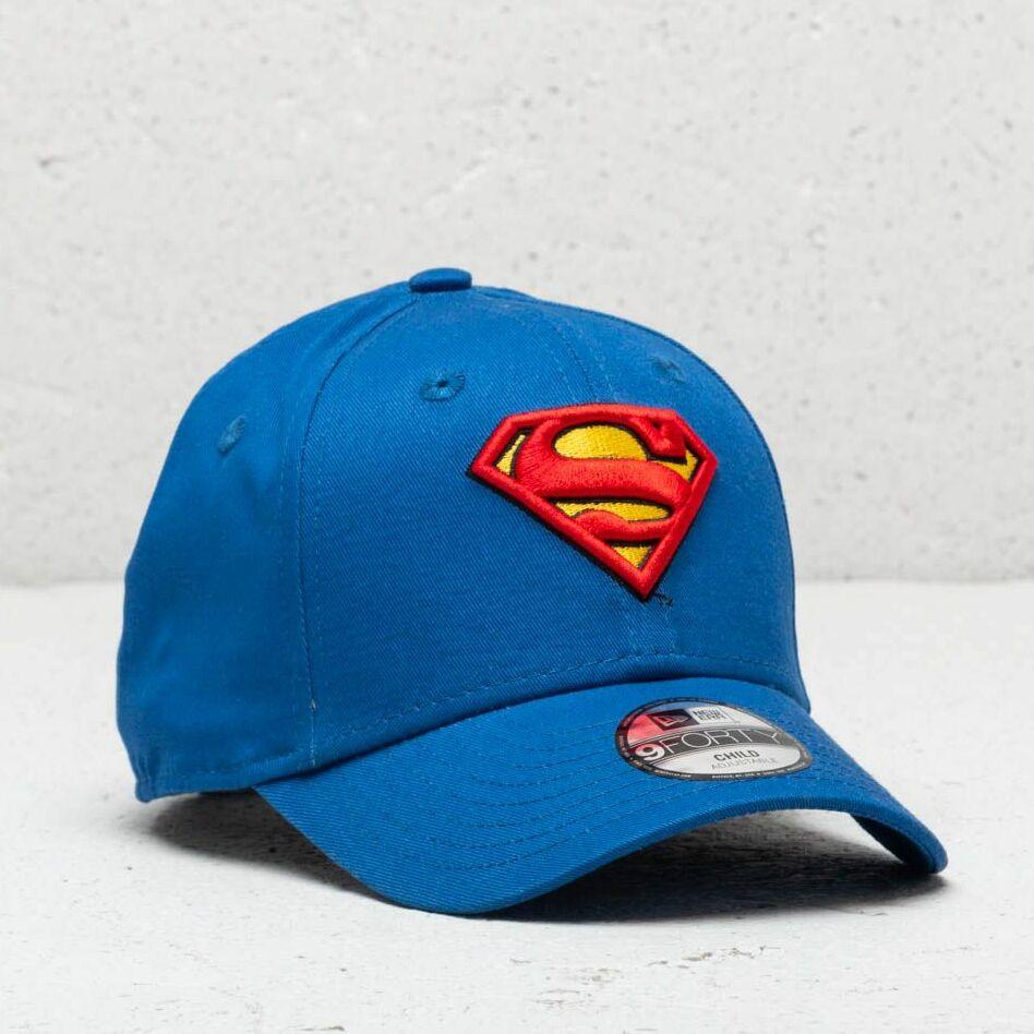 New Era Kids Essential 9Forty Superman Strapback Blue