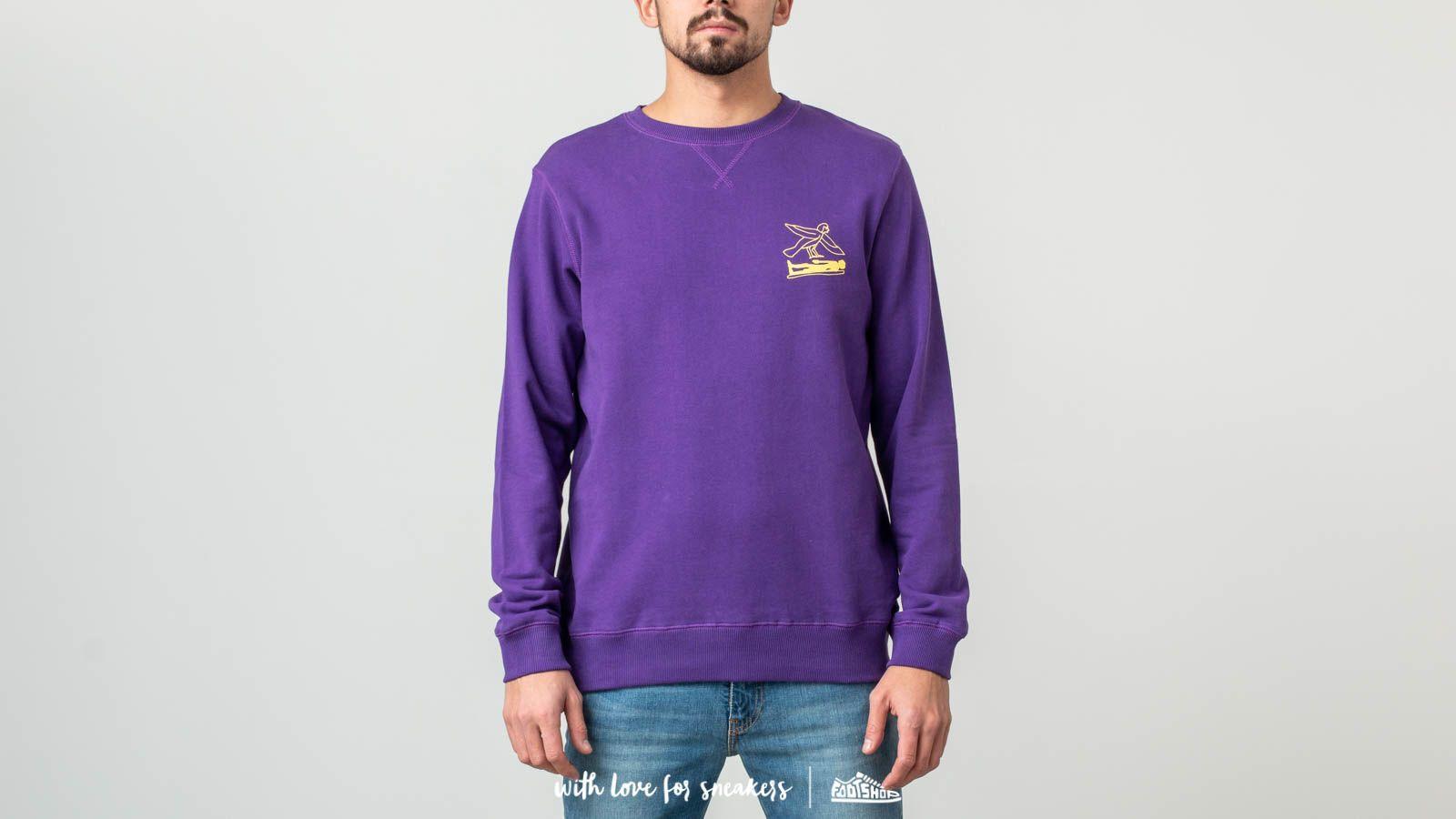 Soulland Fenster Crewneck Purple za skvělou cenu 1 850 Kč koupíte na Footshop.cz