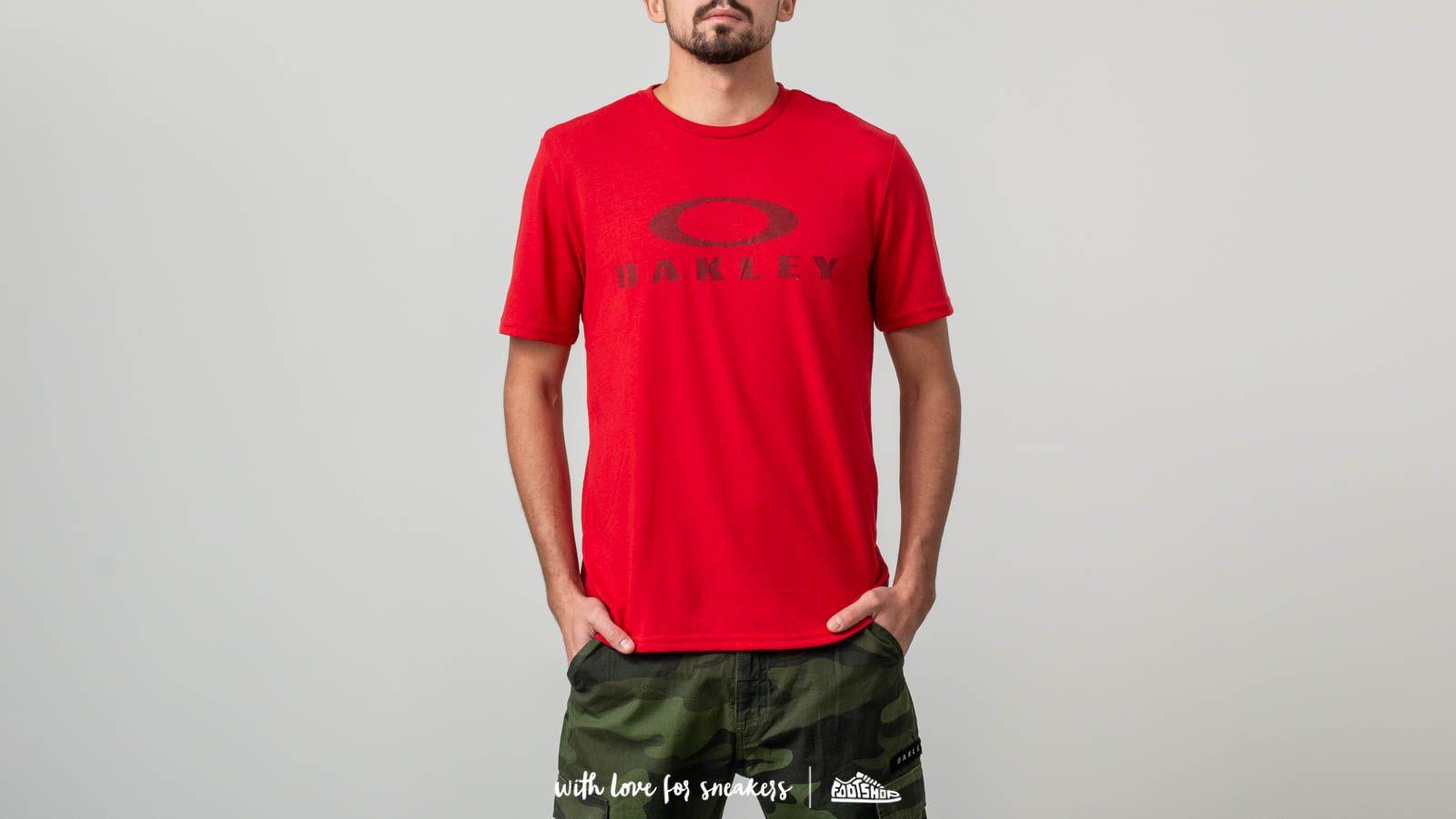 Oakley O Bark Tee Samba Red za skvělou cenu 470 Kč koupíte na Footshop.cz