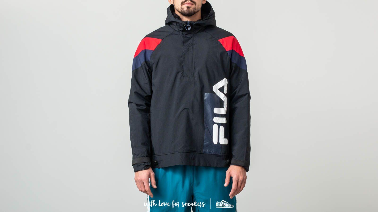Fila Tru Faux Lambswool Lined Jacket Black za skvělou cenu 2 210 Kč koupíte na Footshop.cz