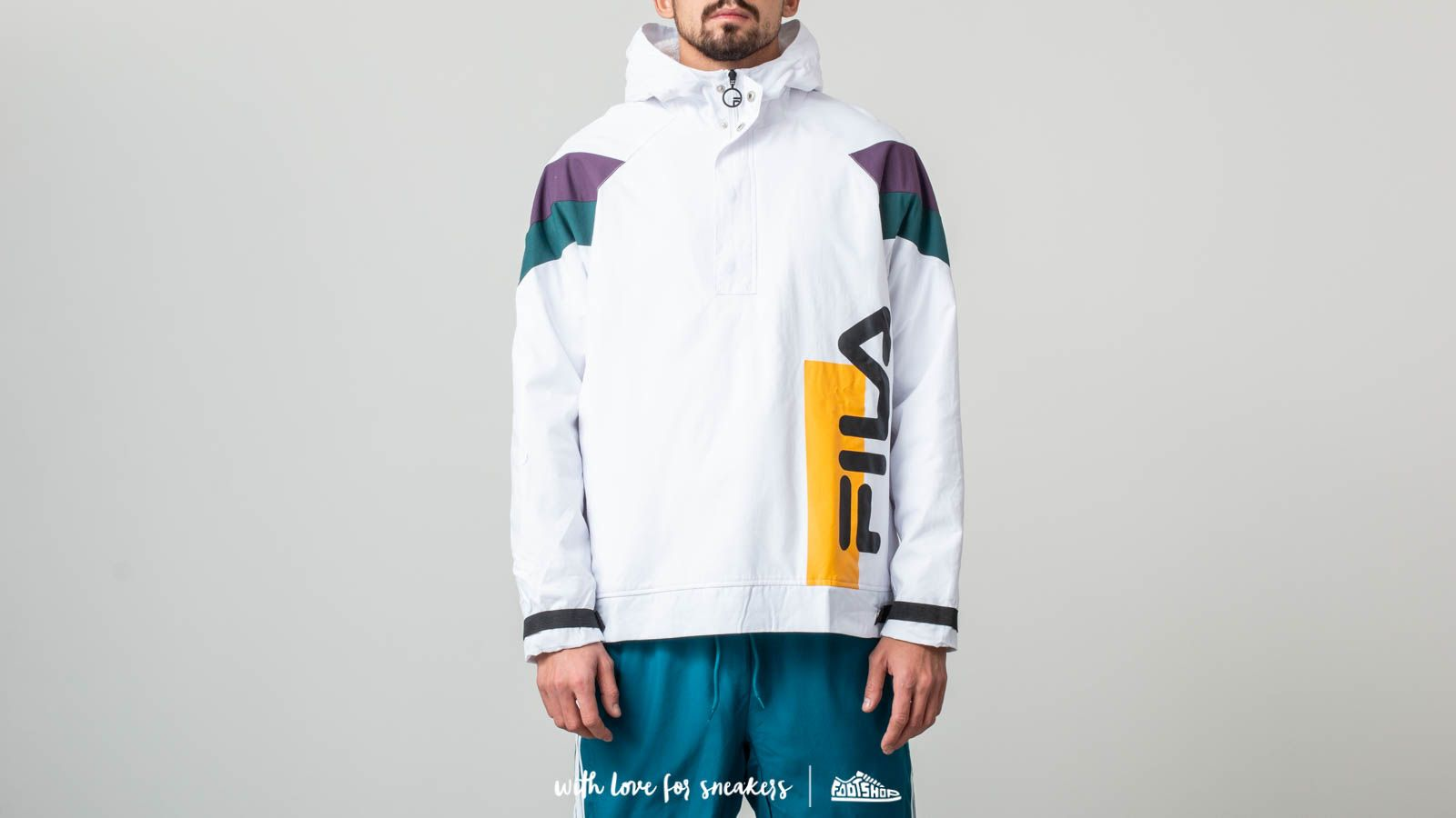 a147ead91397 Fila Tru Faux Lambswool Lined Jacket White at a great price 136 € buy at  Footshop