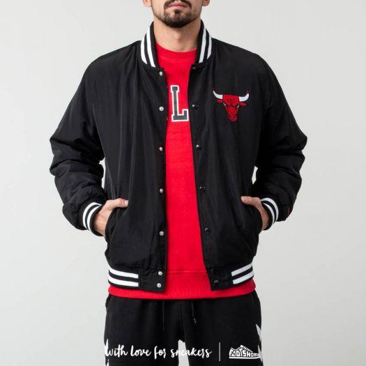 Chicago Bulls Adidas Originals Wool Varsity Jacket Red