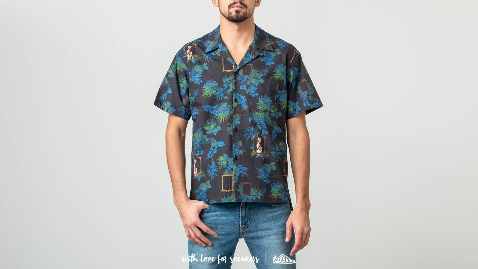 John Elliott Shortsleeves Bowling Shirt