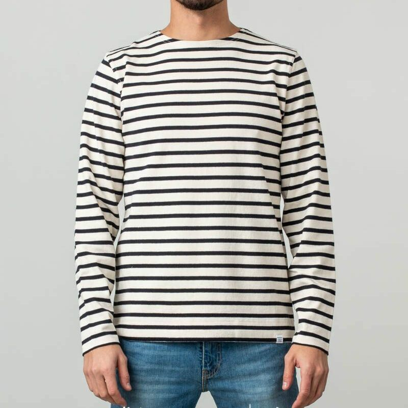 Norse Projects Godtfred Classic Compact Longsleeves Sweater Ecru, White