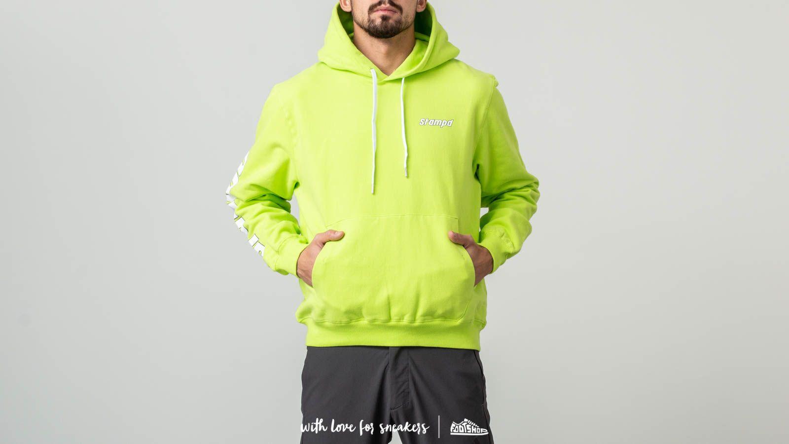 STAMPD KMS Hoodie Highlighter Yellow za skvělou cenu 3 180 Kč koupíte na Footshop.cz