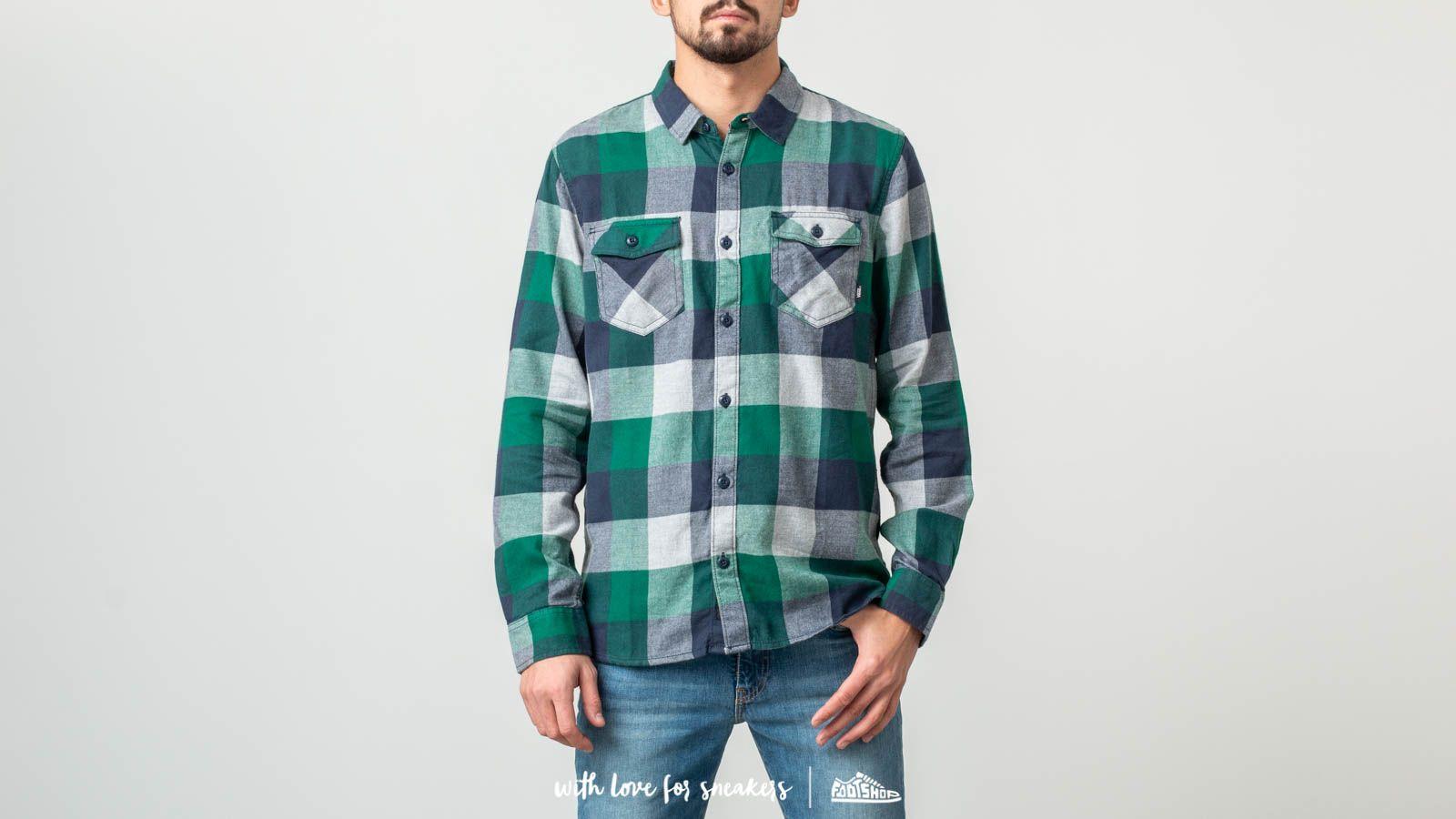 2eeda827b8 Vans Box Flannel Shirt Evergreen  Grey Heather at a great price  63 buy at  Footshop