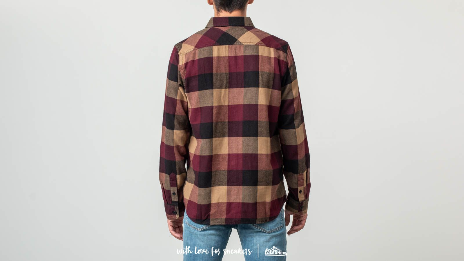 4b766f0ee0 Vans Box Flannel Shirt Port Royale  Dirt at a great price £47 buy at