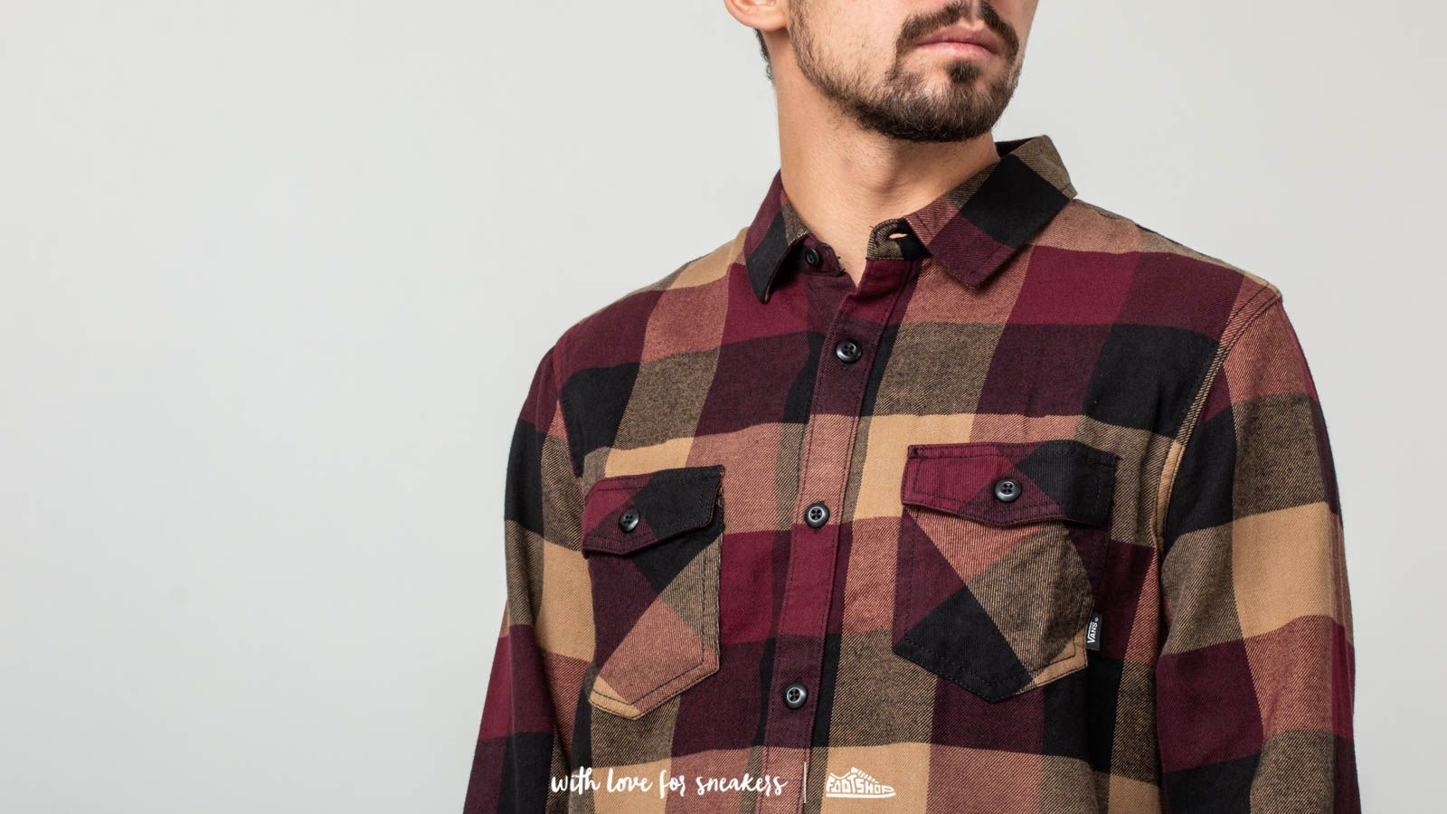 Vans Box Flannel Shirt Port Royale Dirt | Footshop