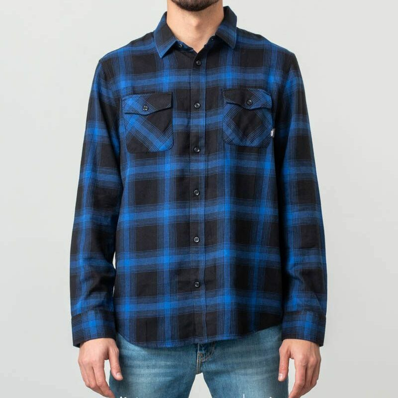 Vans Monterey III Shirt Black-Mazarine