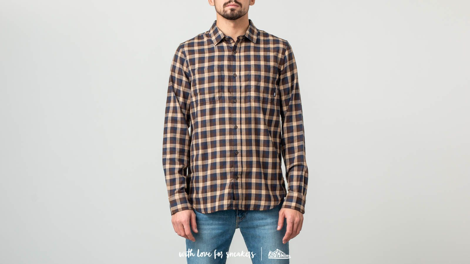 Vans Alameda II Shirt Demitasse-Khaki za skvělou cenu 870 Kč koupíte na Footshop.cz