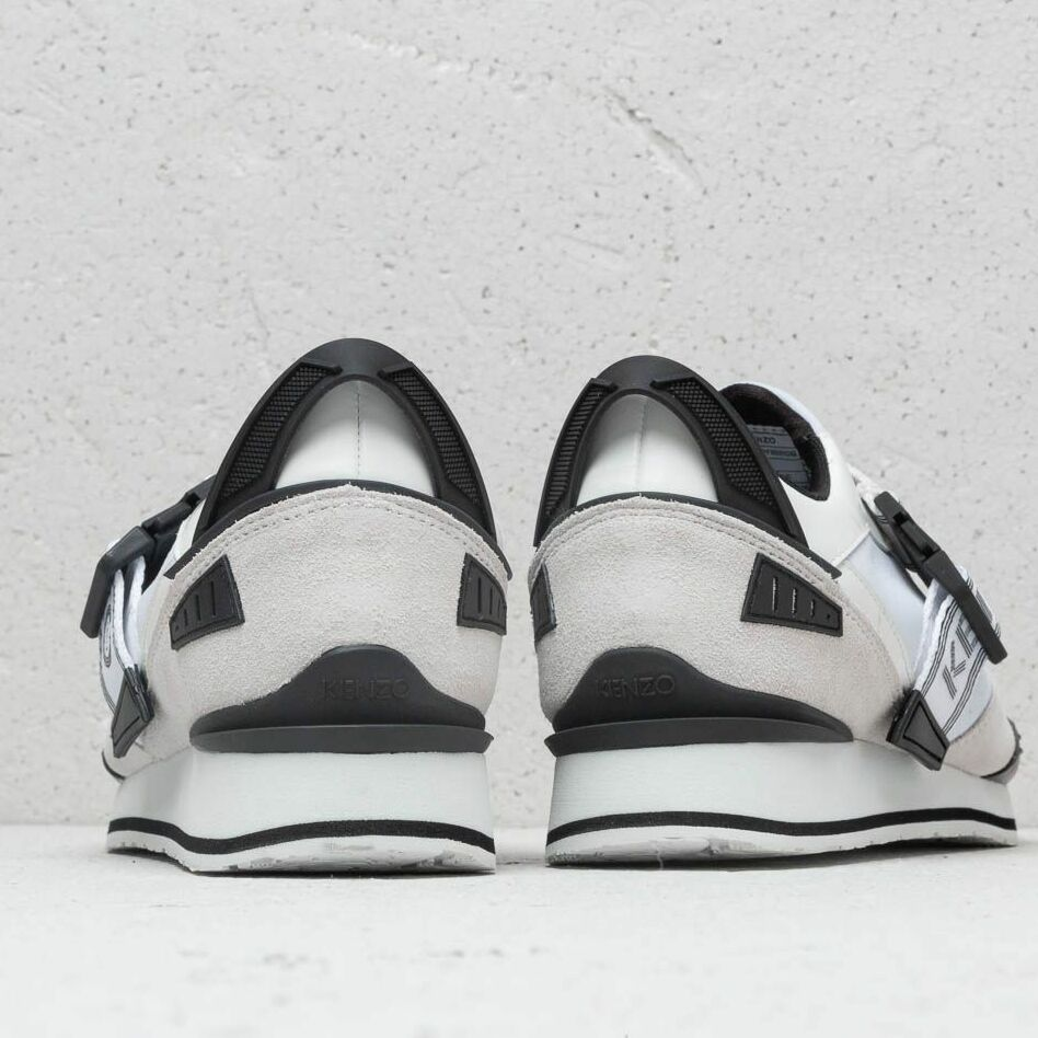 Kenzo New K-Run Sneakers White