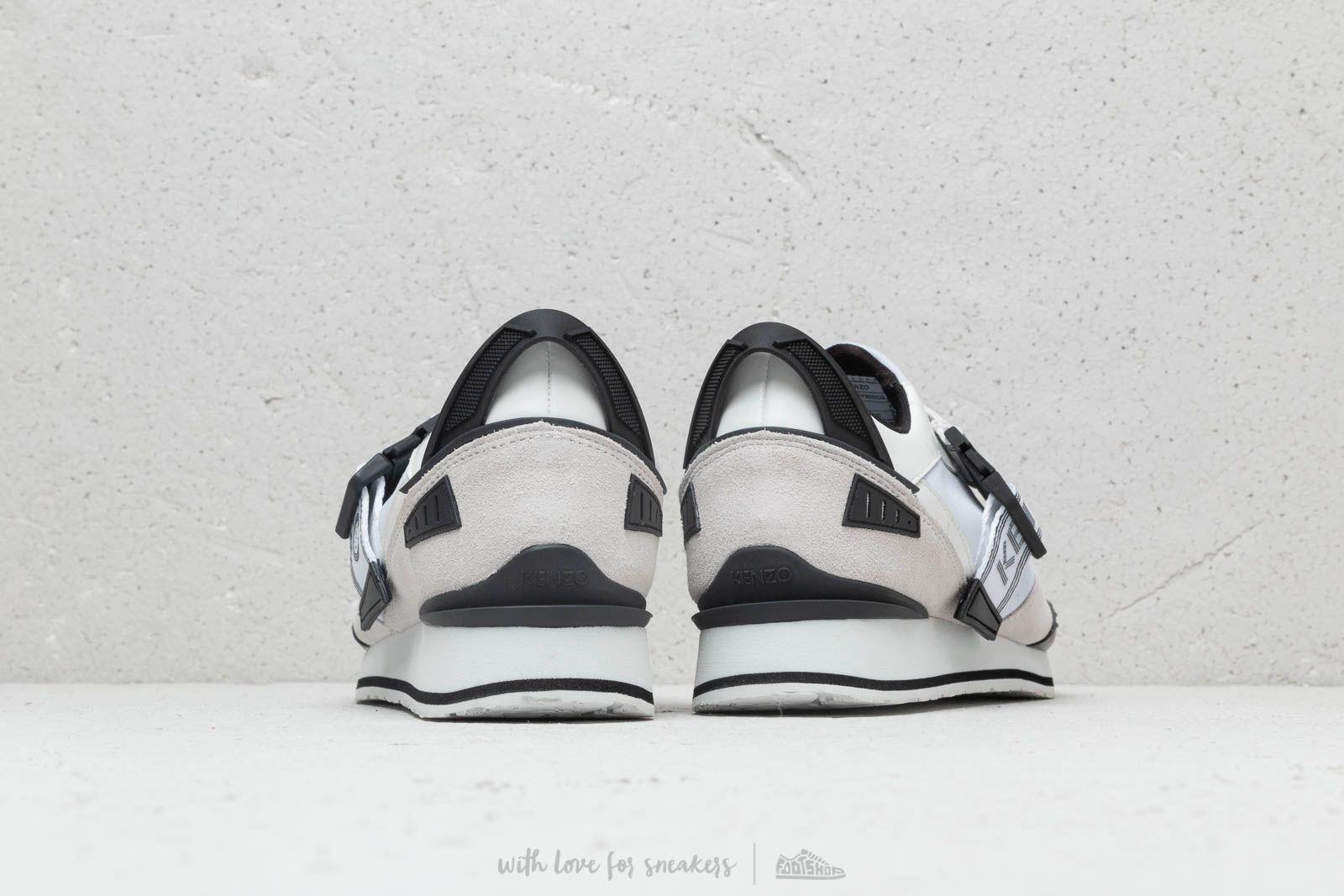 Kenzo New K Run Sneakers White   Footshop
