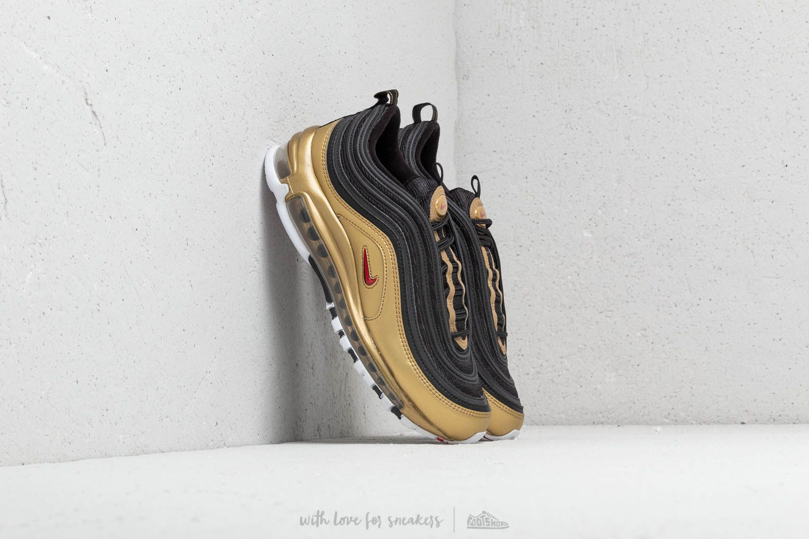 Nike Air Max 97 QS Black/ Varsity Red & Gold at a great price 180 € buy at Footshop