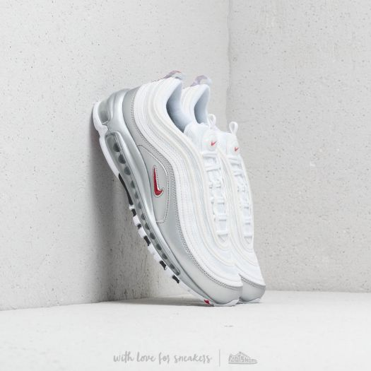 Nike Air Max 97 QS White Varsity Red & Silver | Footshop