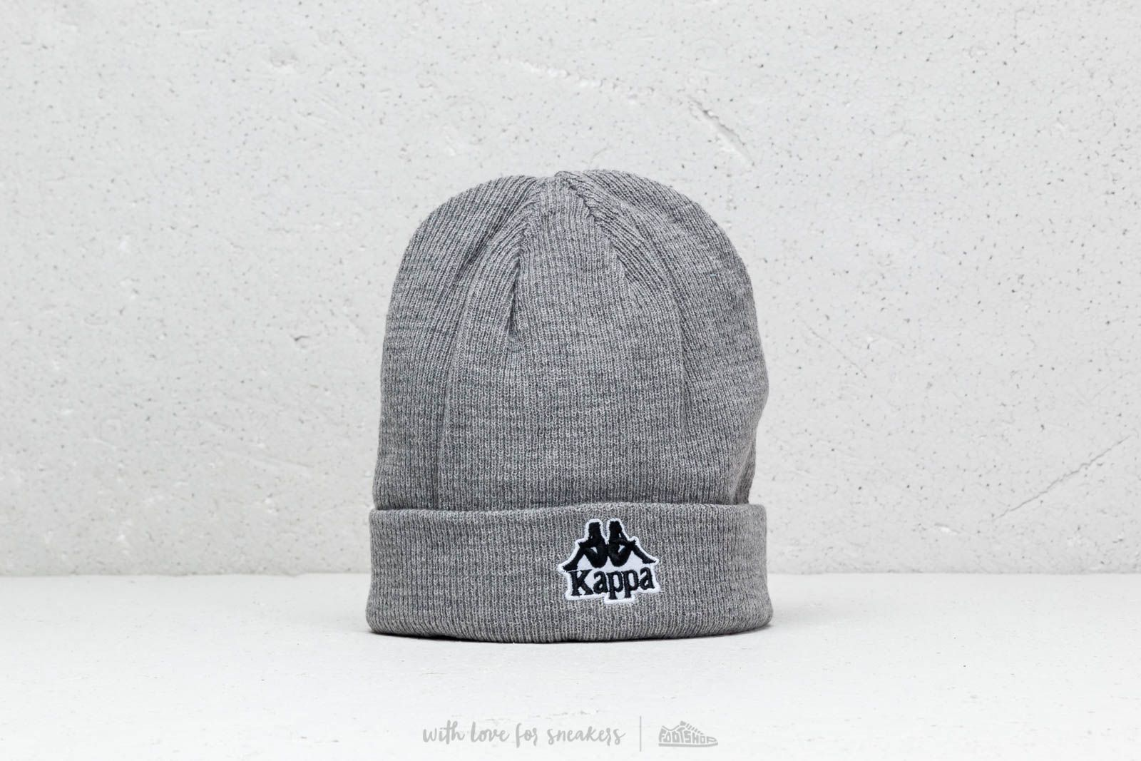 Čepice Kappa Authentic Aysnes Hat Beanie Grey