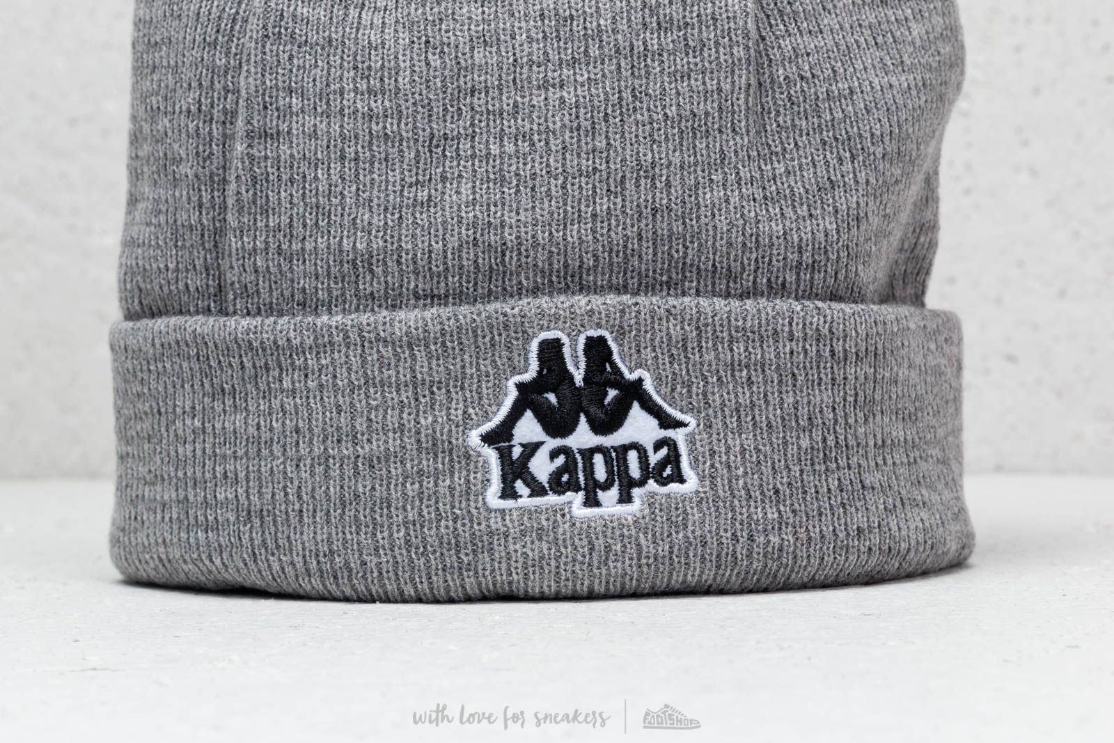 e2372050c7d Kappa Authentic Aysnes Hat Beanie Grey at a great price £12 buy at Footshop
