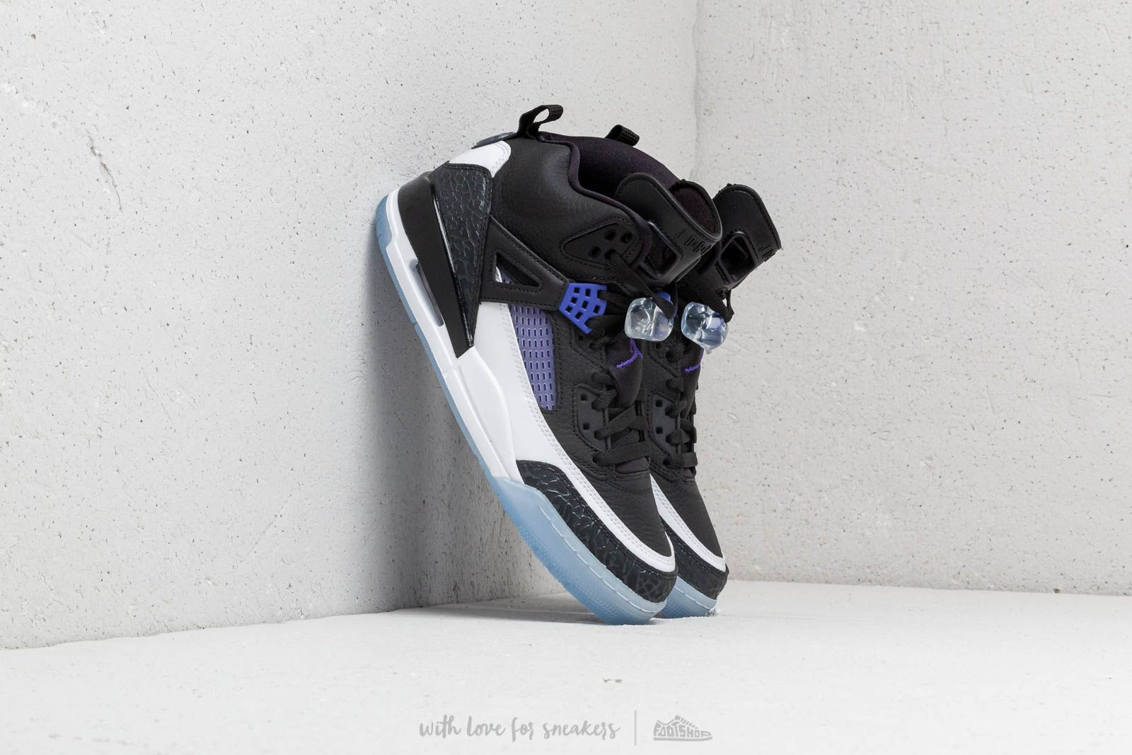 f5a2e0b688ea Jordan Spizike Black  Dark Concord-White at a great price 158 € buy at