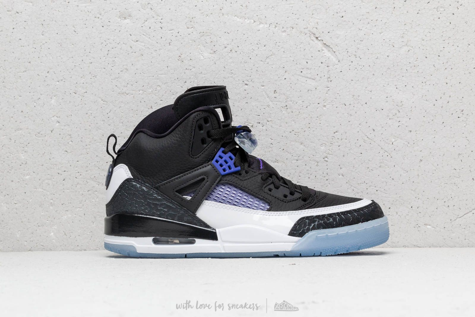 separation shoes 89eb7 46fb6 Jordan Spizike Black  Dark Concord-White at a great price  185 buy at  Footshop