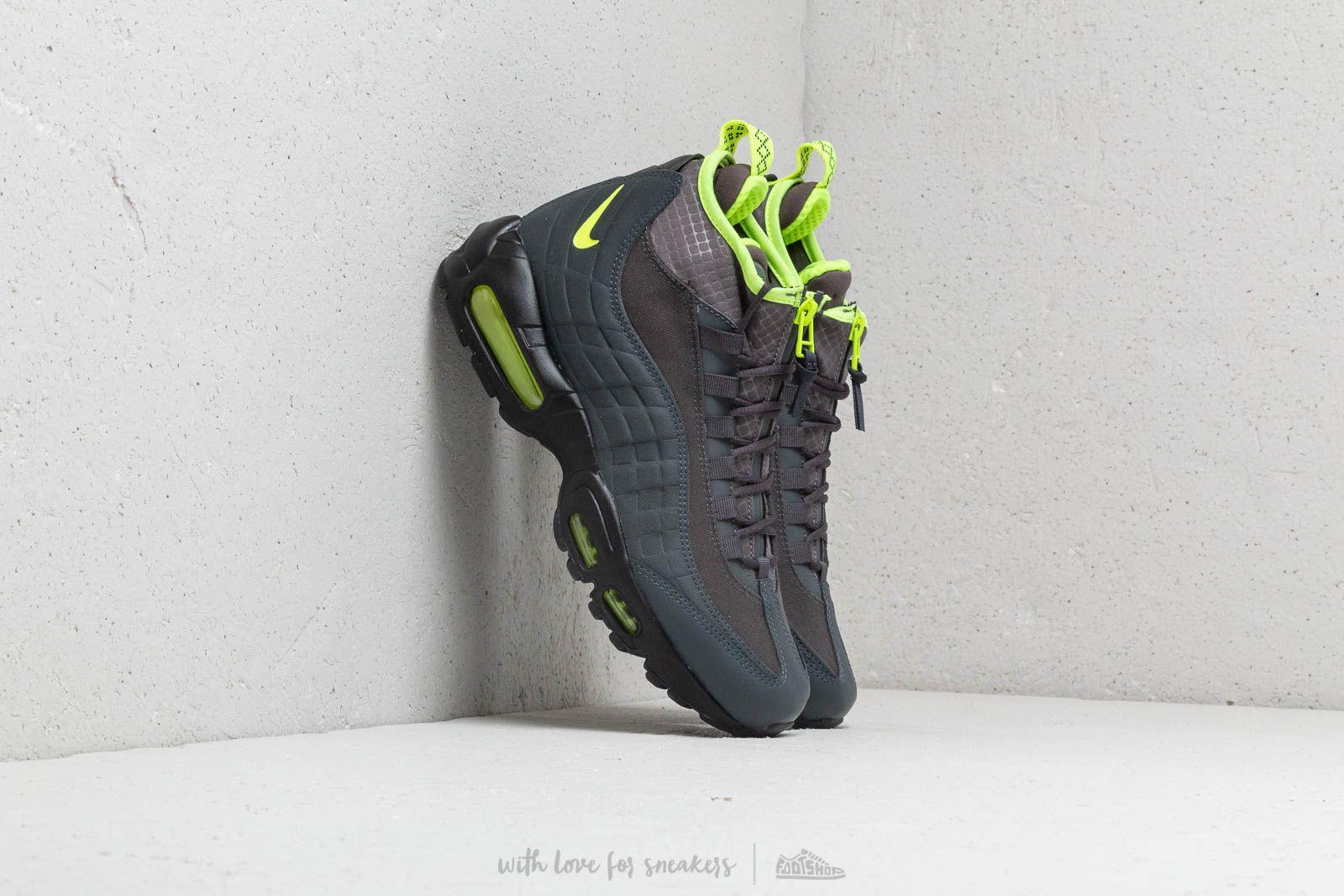 bb57ad721e01 Nike Air Max 95 Sneakerboot Anthracite  Volt-Dark Frey