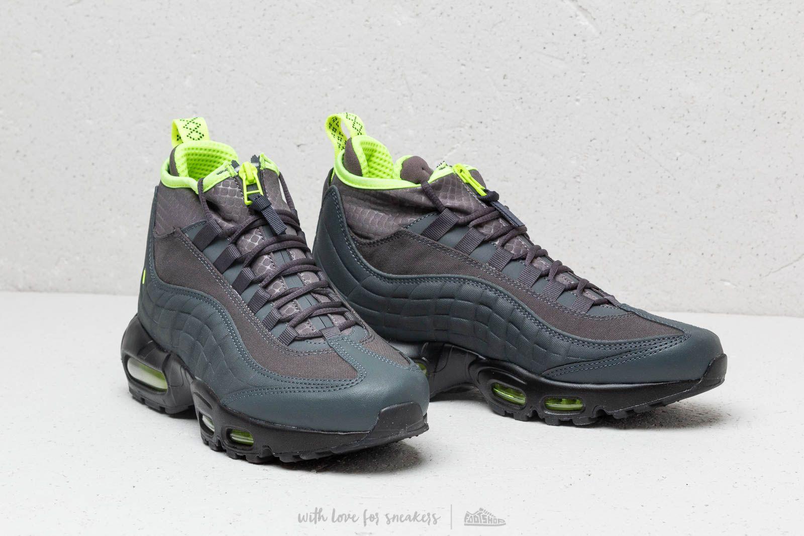 promo code d2901 0bef0 Nike Air Max 95 Sneakerboot Anthracite/ Volt-Dark Frey ...