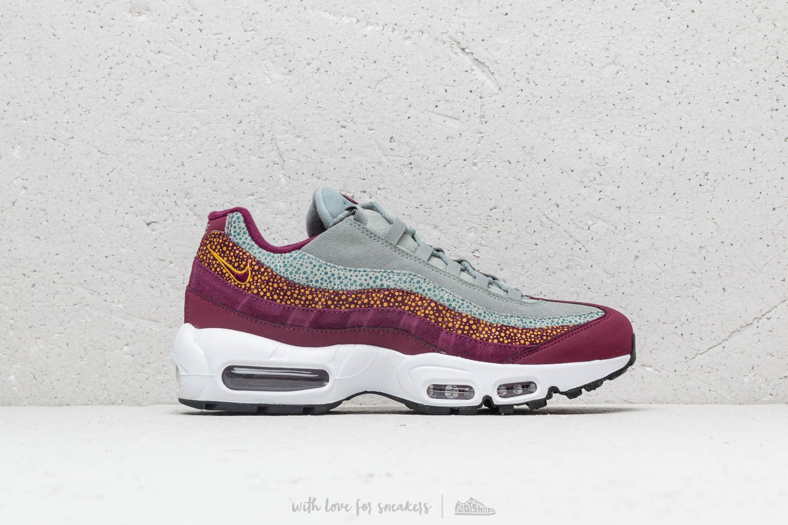 f53a7e9a512 Nike Wmns Air Max 95 Premium Bordeaux  Bordeaux-Yellow Ochre at a great  price
