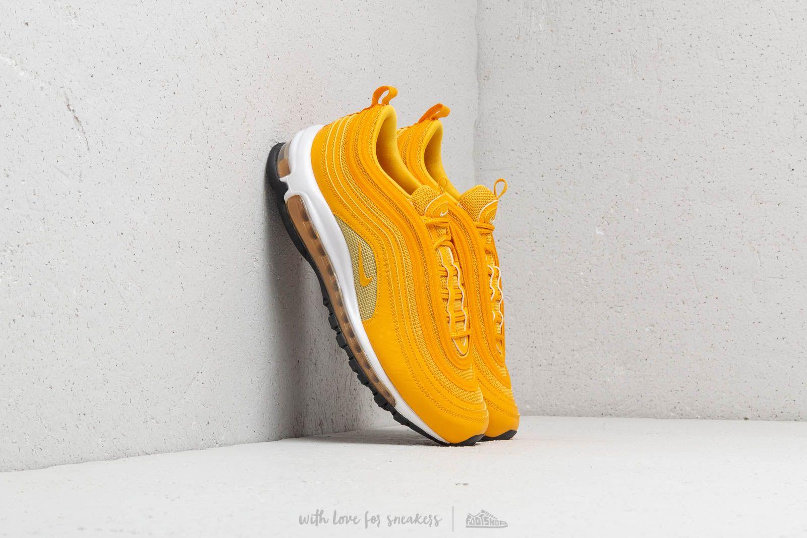 Dámské tenisky a boty Nike Air Max 97 Wm's Mustard/ Mustard-Buff Gold