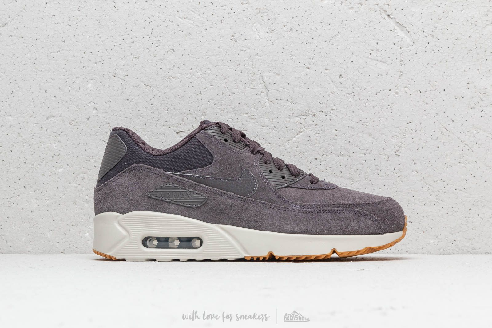 Nike Shoes Mens Air Max 90 Ultra 2.0 Leather Thunder Grey