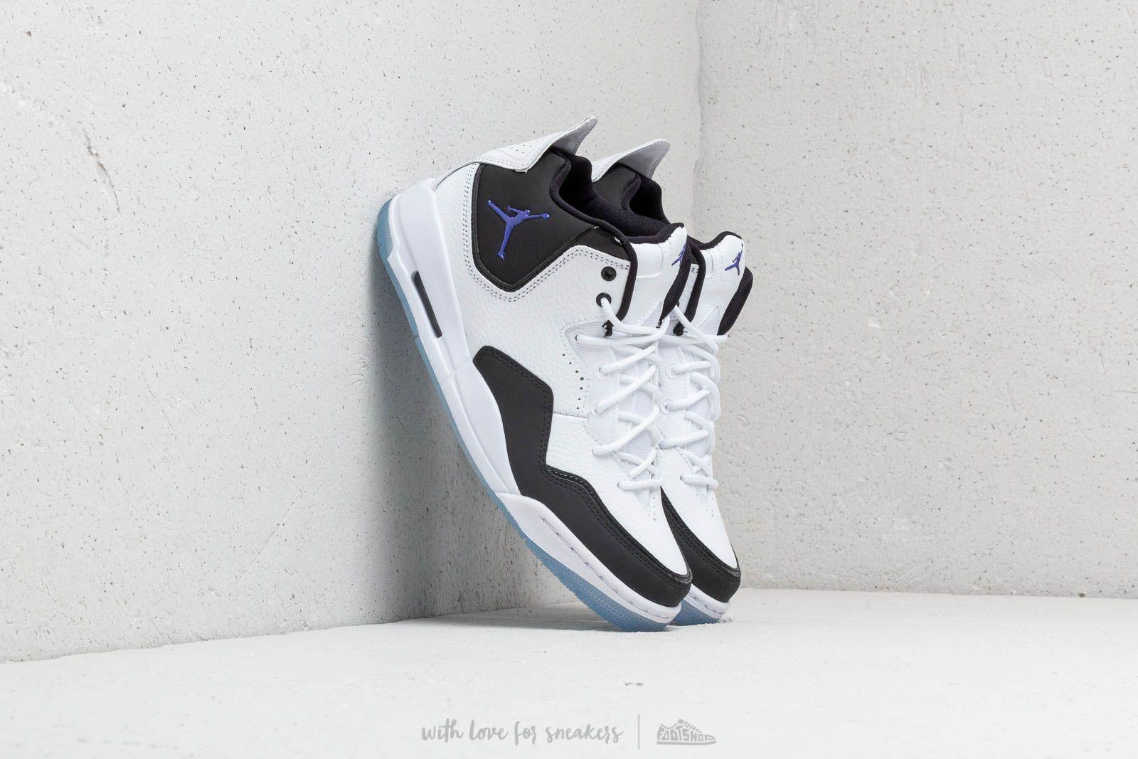 abacf604aad16b Jordan Courtside 23 White  Dark Concord-Black
