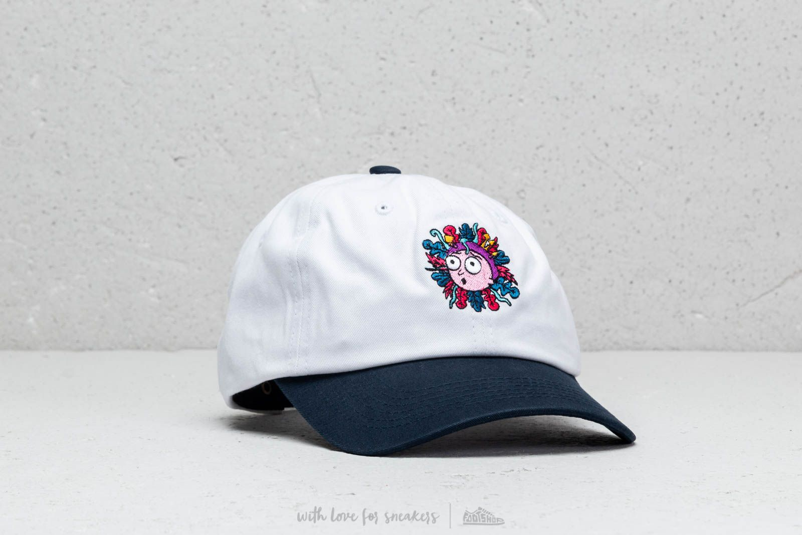 Primitive x Rick and Morty Dad Hat White at a great price 31 € buy at f13a7c2ef10