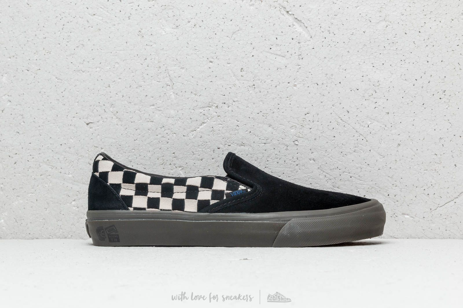8a7ce87e69 Vans x Taka Hayashi Slip-On LX (Woven Suede) Checkerboard at a great