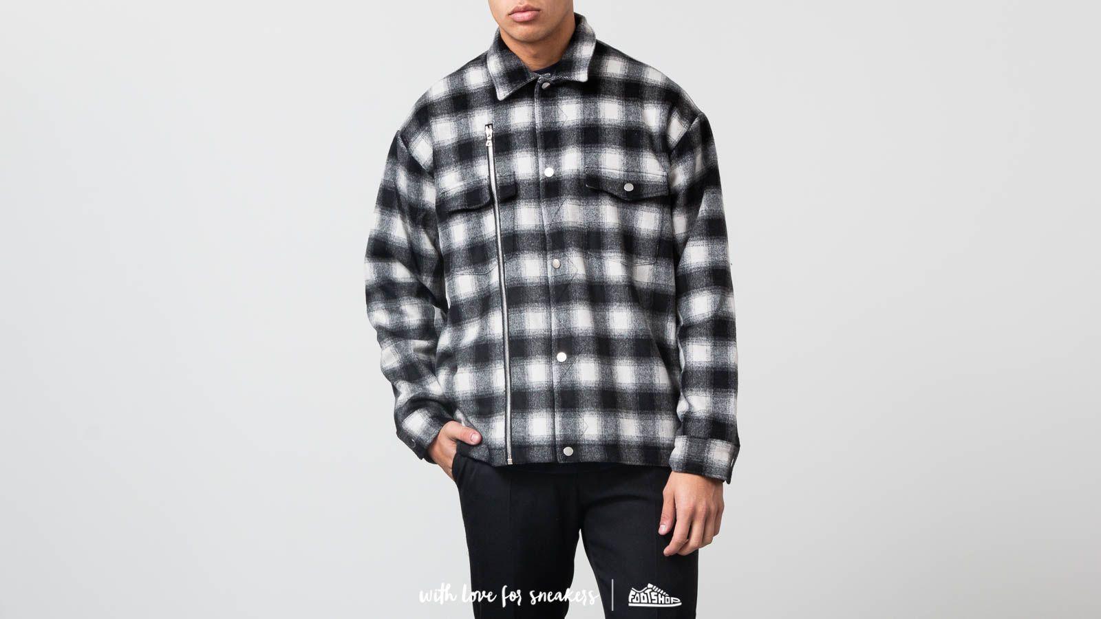 STAMPD Asher Flannel Shirt Jacket