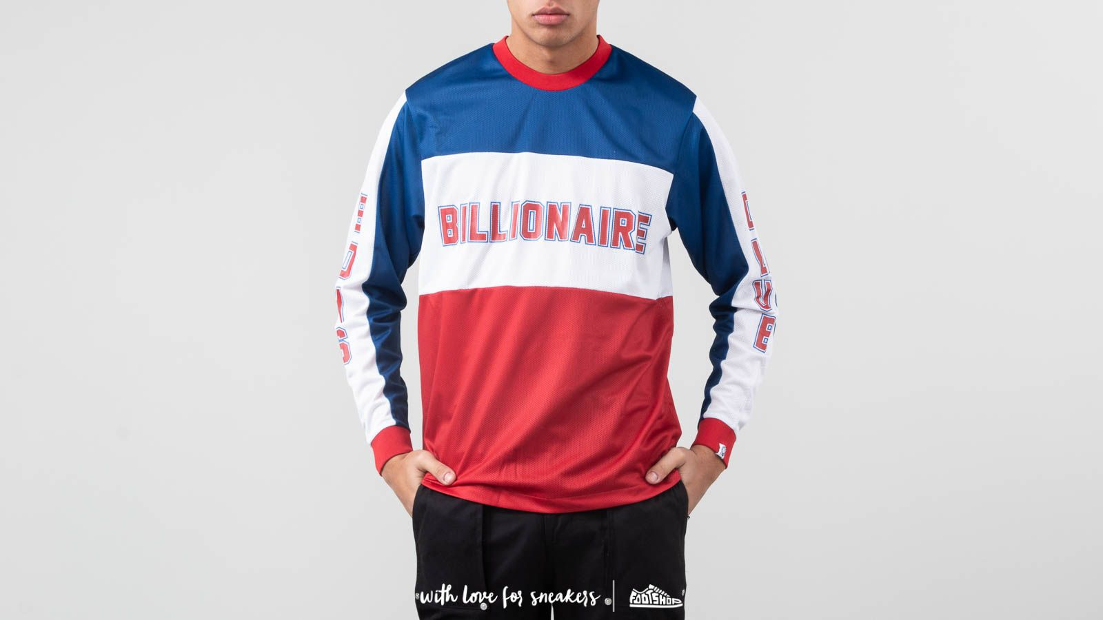 Camisetas Billionaire Boys Club BMX Long Sleeve Tee Blue