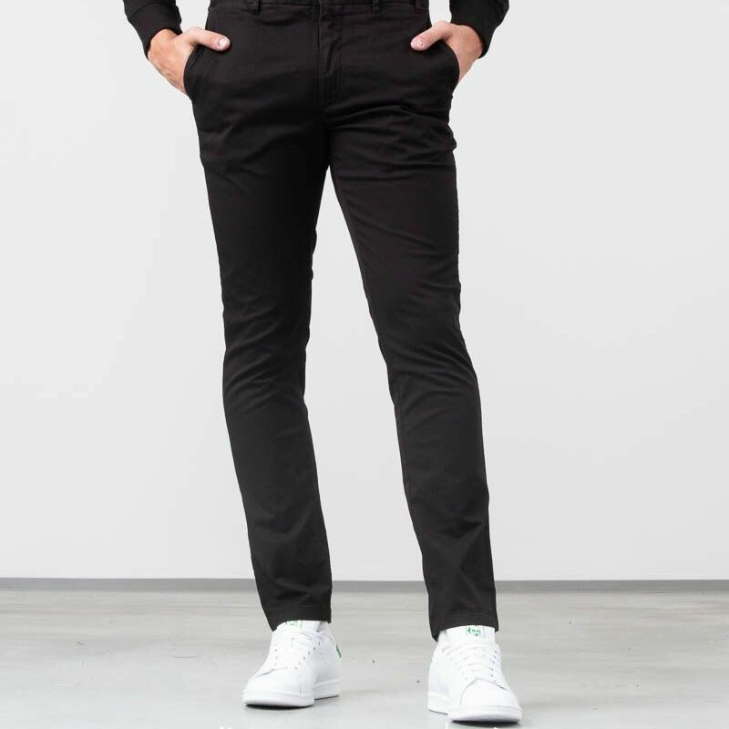 Norse Projects Aros Slim Light Stretch Pants Black