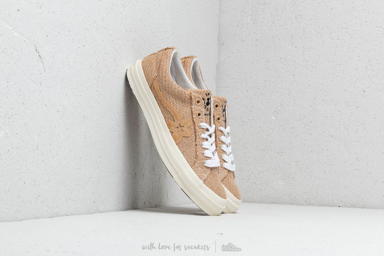 Converse x Golf Le Fleur One Star Ox Curry/ Curry/ Egret