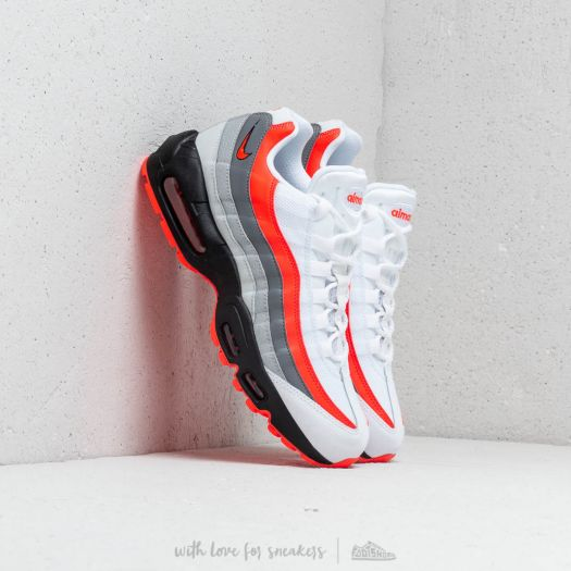 Nike Air Max 95 Essential White, Platinum & Silver | END.