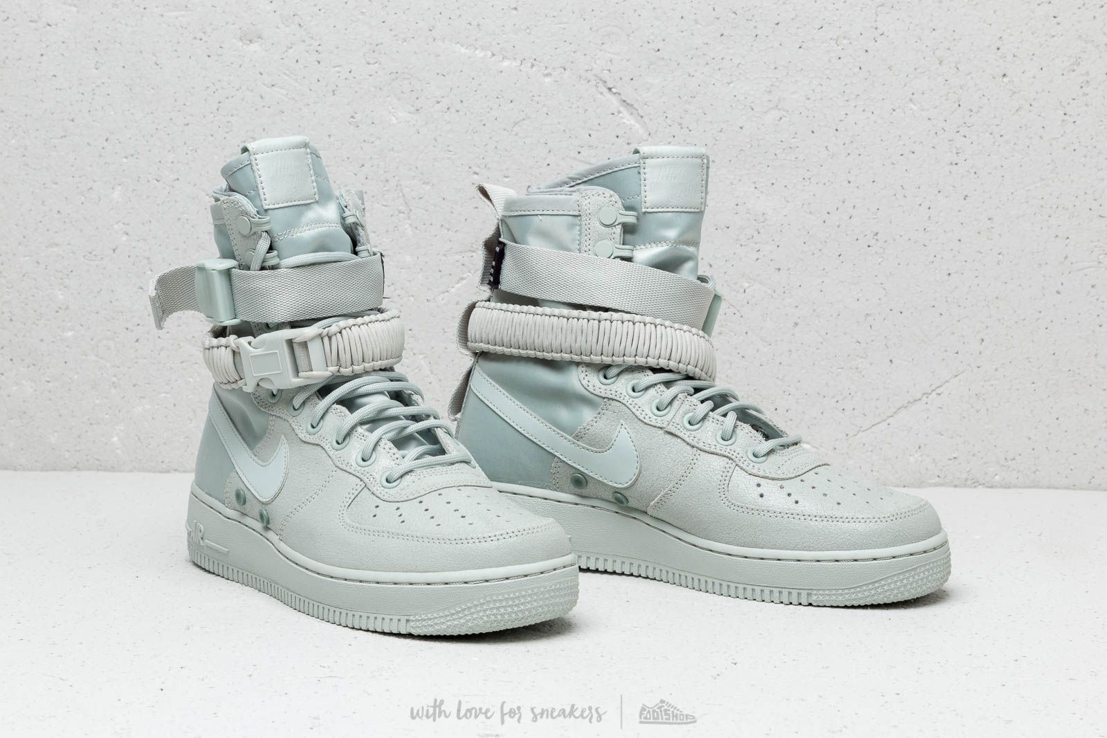 Nike W SF Air Force 1 Light Silver Light Silver | Footshop