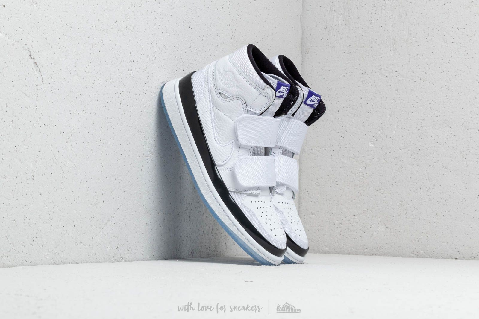 14d8fd29809f Air Jordan 1 Retro High Double Strap White  Dark Concord-Black at a great
