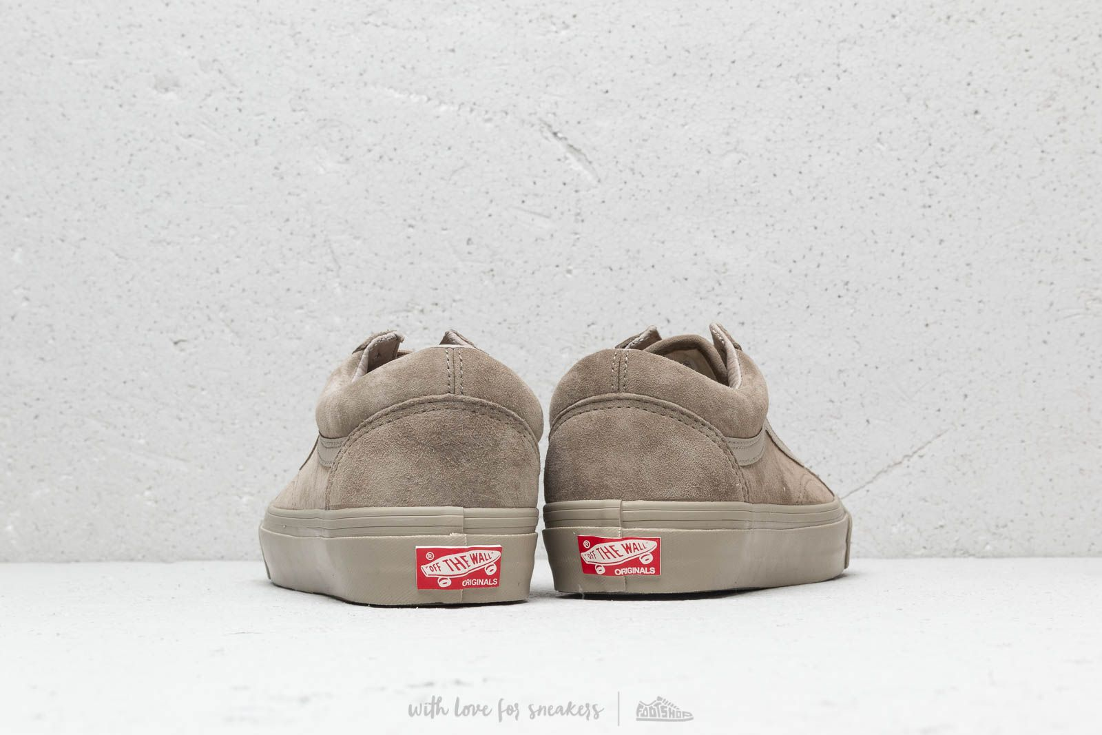 ae528b4c643628 Vans OG Old Skool LX (Leather  Suede) Plaze Taupe at a great price