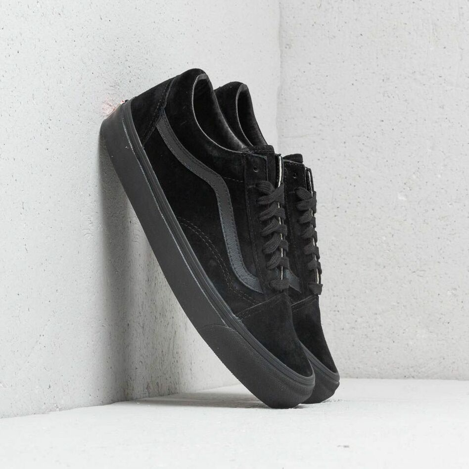 Vans OG Old Skool LX (Leather/ Suede) Black EUR 39