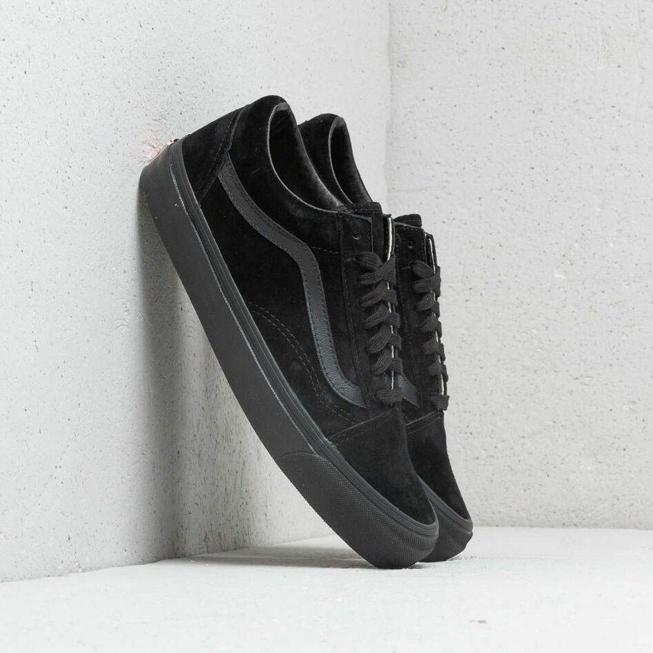 Vans OG Old Skool LX (Leather/ Suede) Black EUR 46