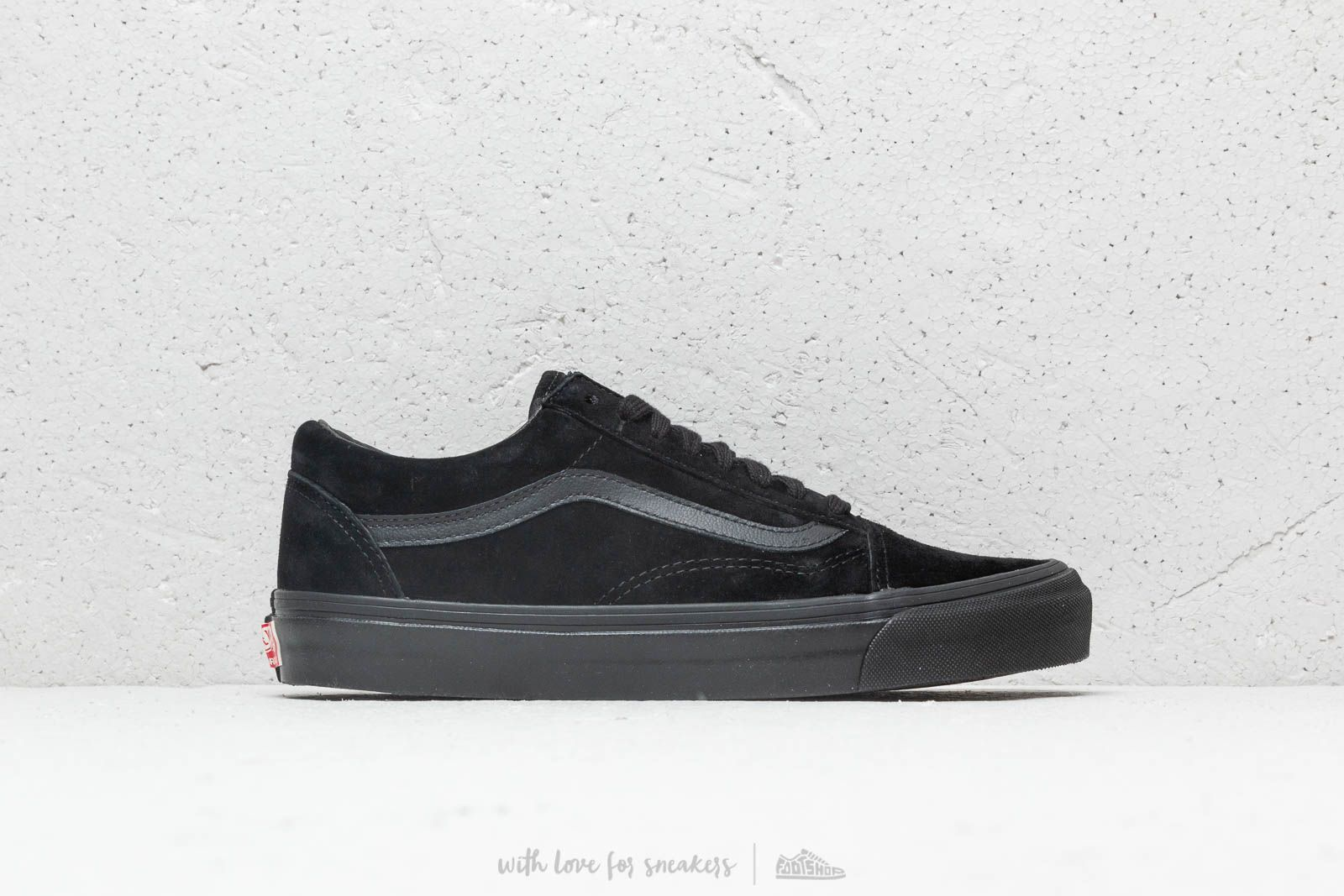 dcb5cfcf39 Vans OG Old Skool LX (Leather  Suede) Black at a great price 83