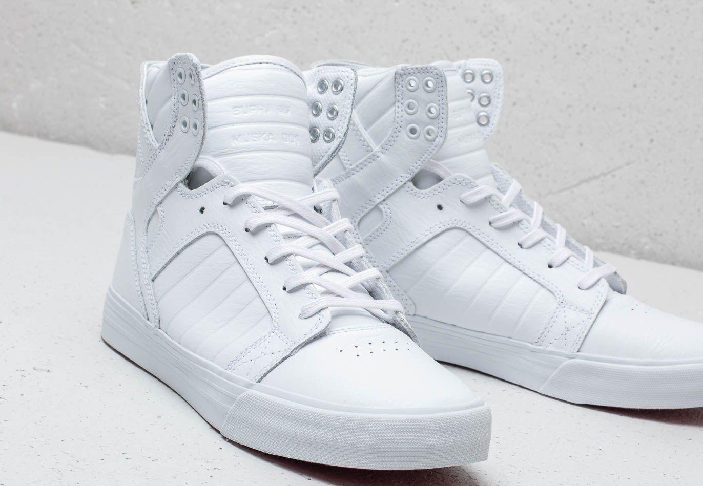 Supra Skytop White/ White/ Red-White EUR 43