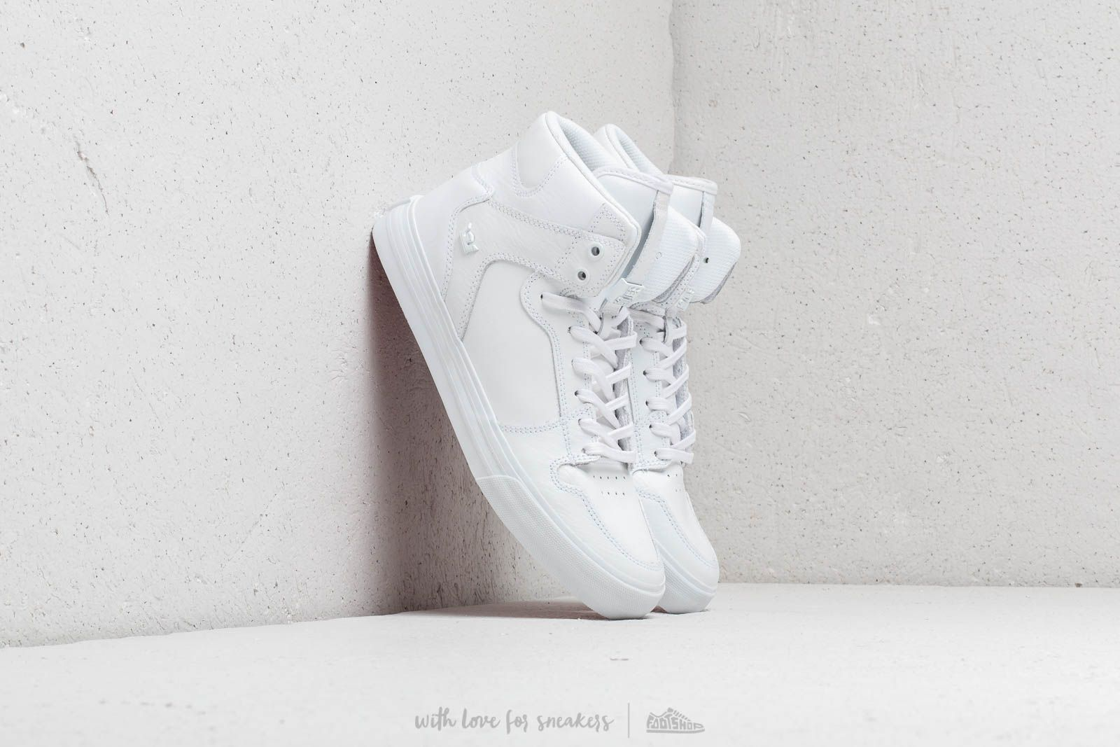 Supra Vaider White/ Red-White