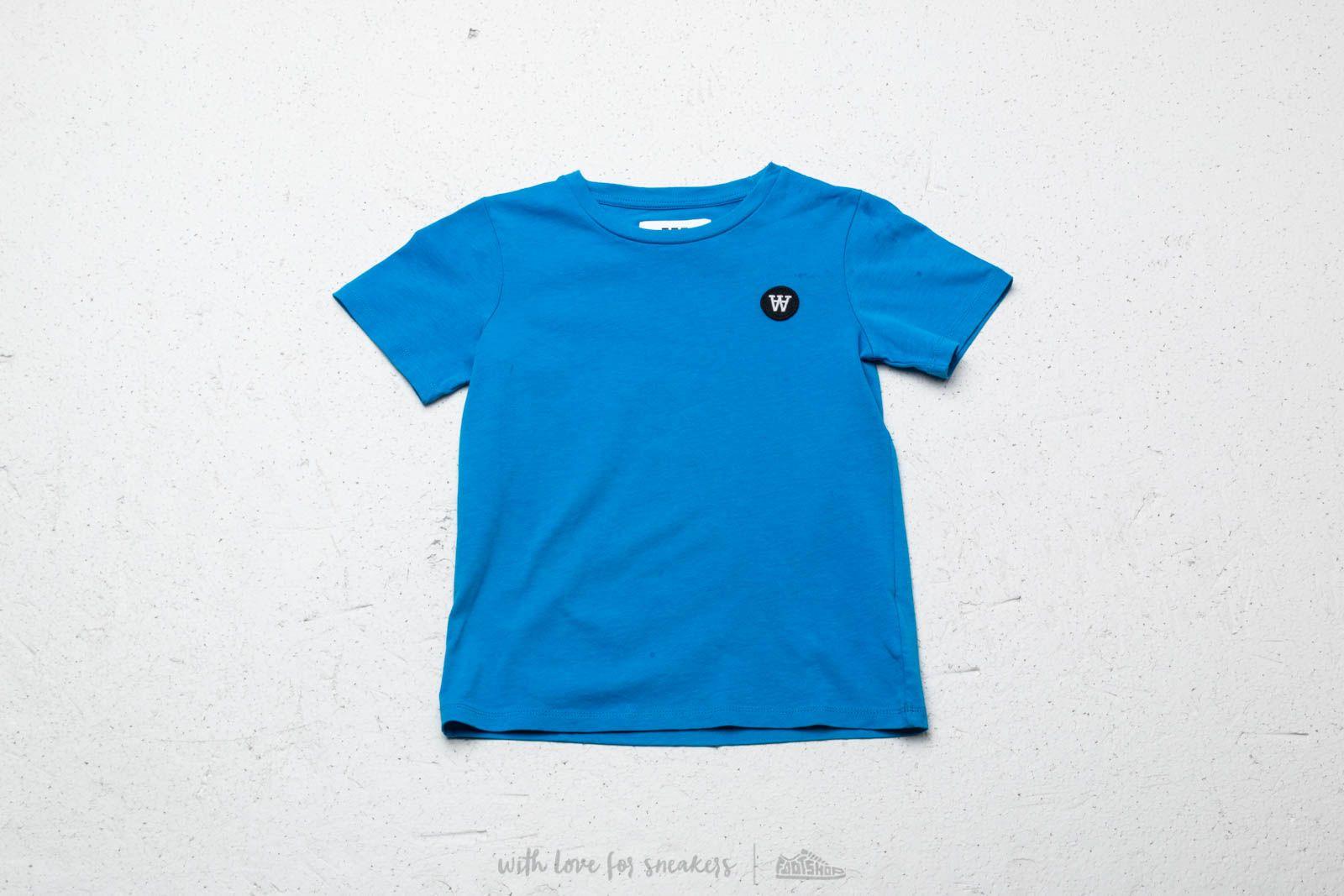 WOOD WOOD Kids Ola Tee Blue za skvělou cenu 530 Kč koupíte na Footshop.cz