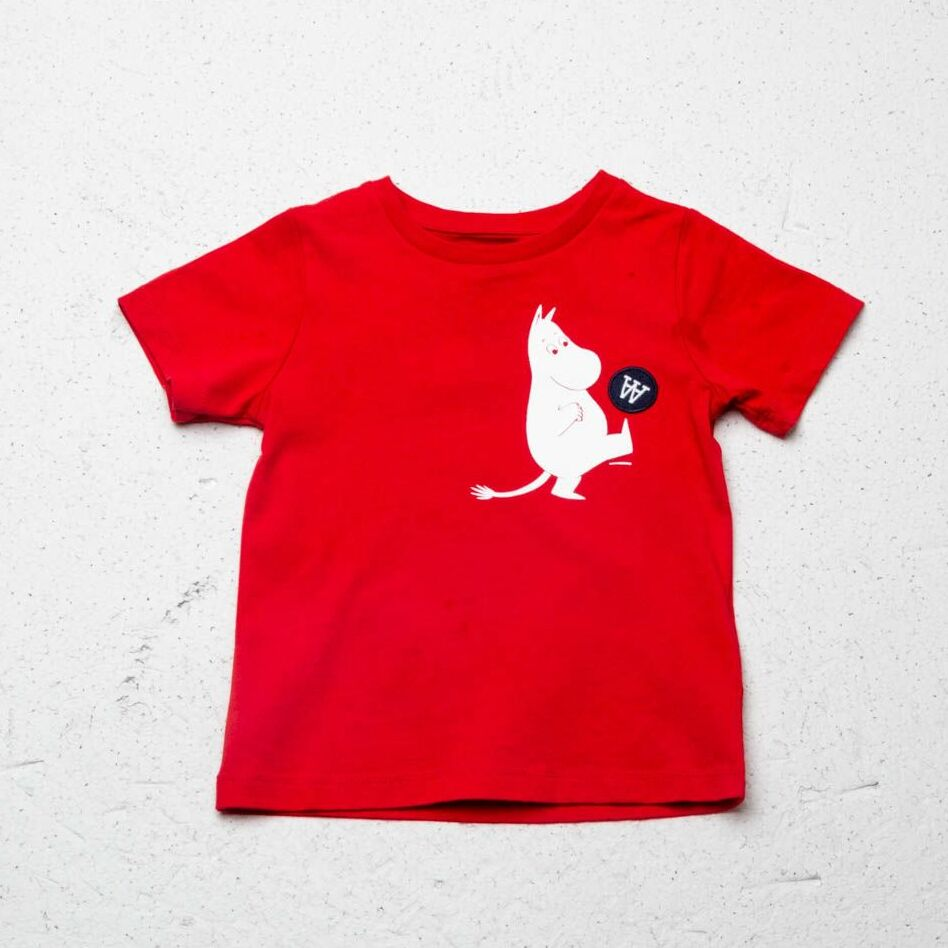WOOD WOOD Ola Tee Red