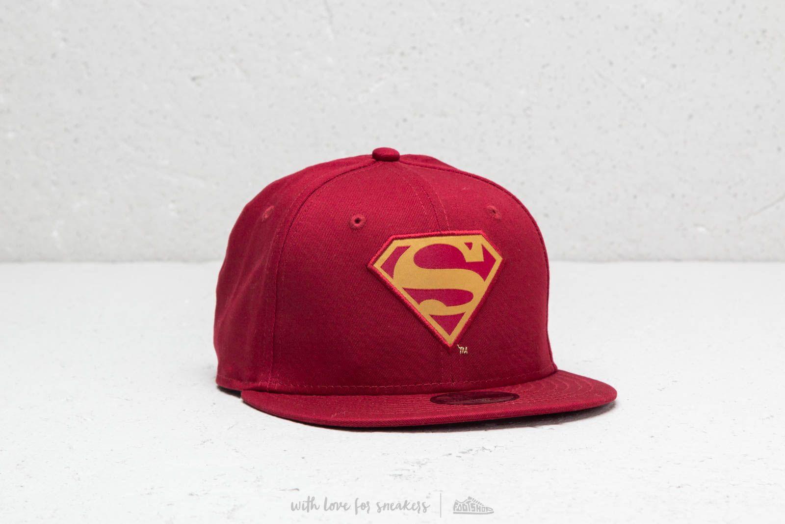 New Era 9Fifty Character Superman Cap