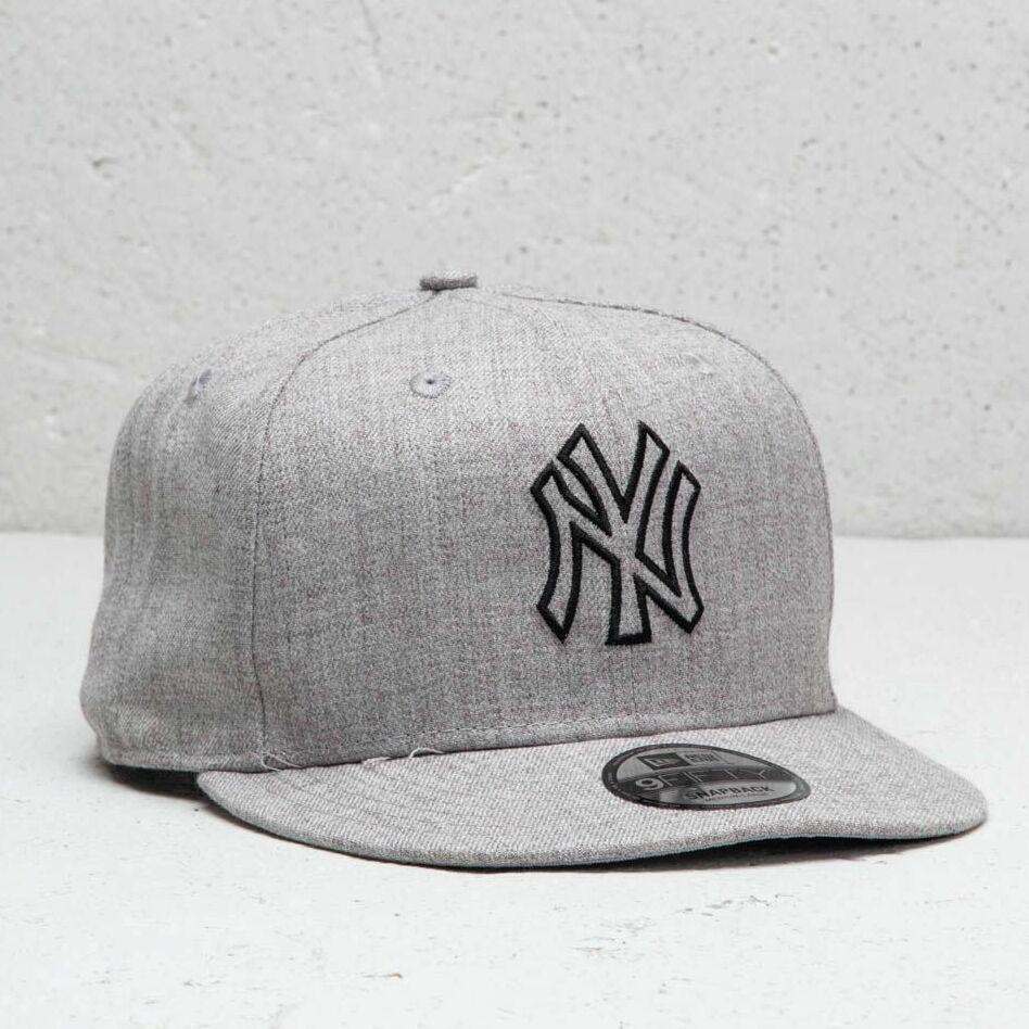 New Era MLB New York Yankees Essential Cap Heather Grey S-M